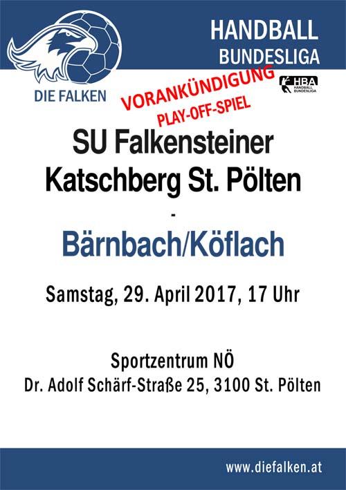 Spiel-Ankündigung Bärnbach Play-Offjpg